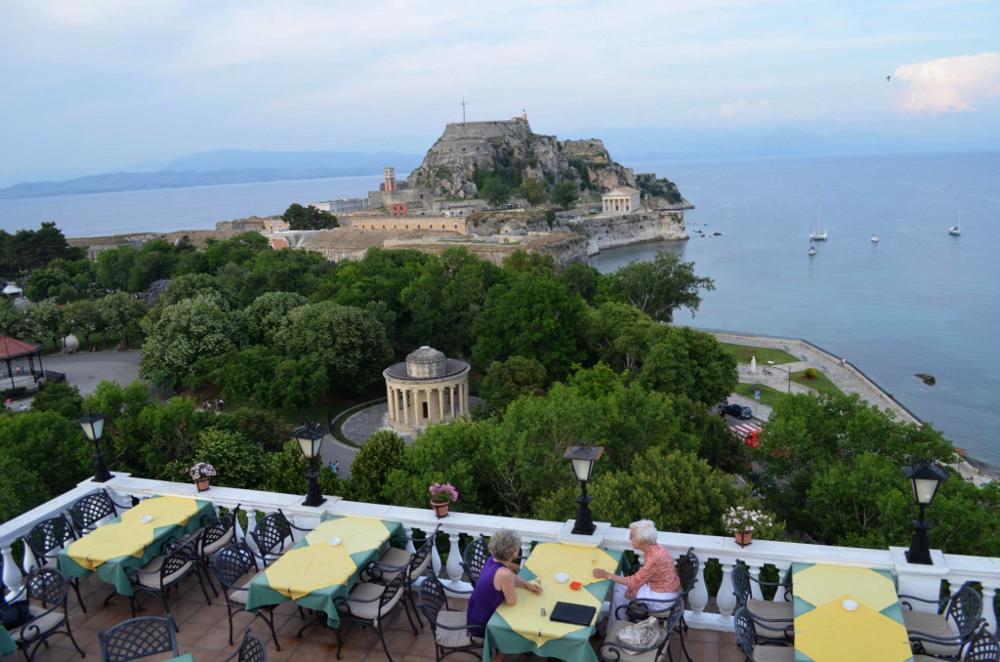 Cavalieri Roof Top, Corfu