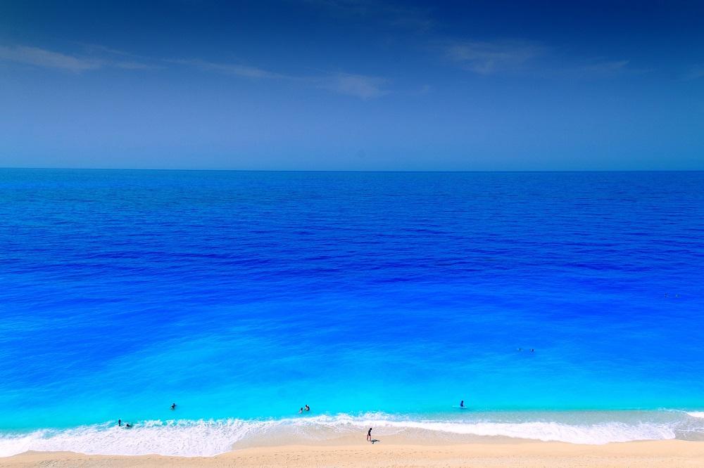 Plaja Egremni, Lefkada