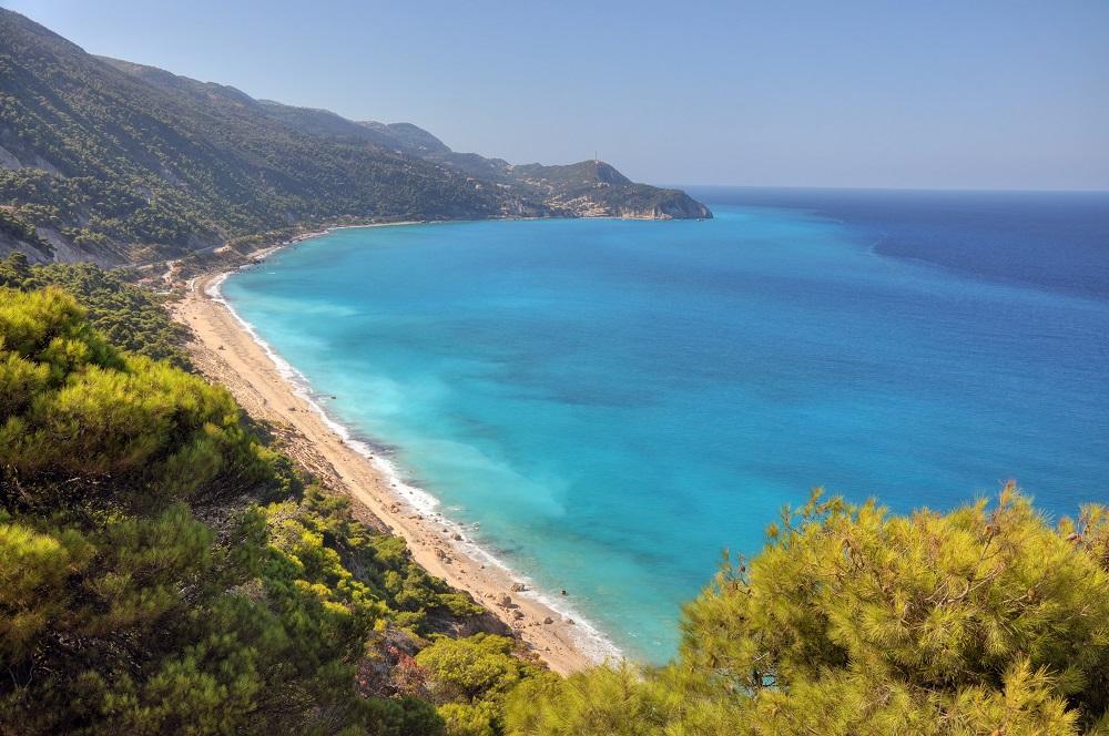 Plaja Milos, Lefkada