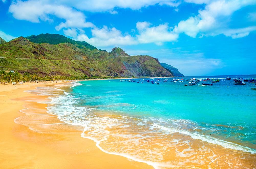 Plaja din Tenerife