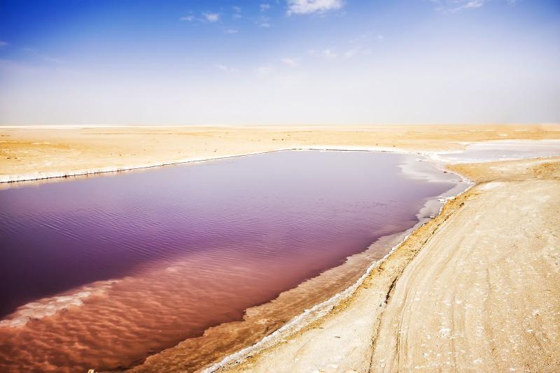 Lacul Chott El Djerid, Tunisia
